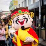 Newcastle China Week mascot