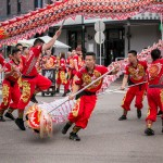 Dragon Dance in Beaumont St