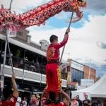 Dragon Dance on Beaumont Street